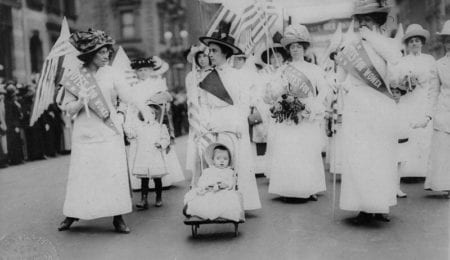 Exactly 98 years ago American women gained the right to vote